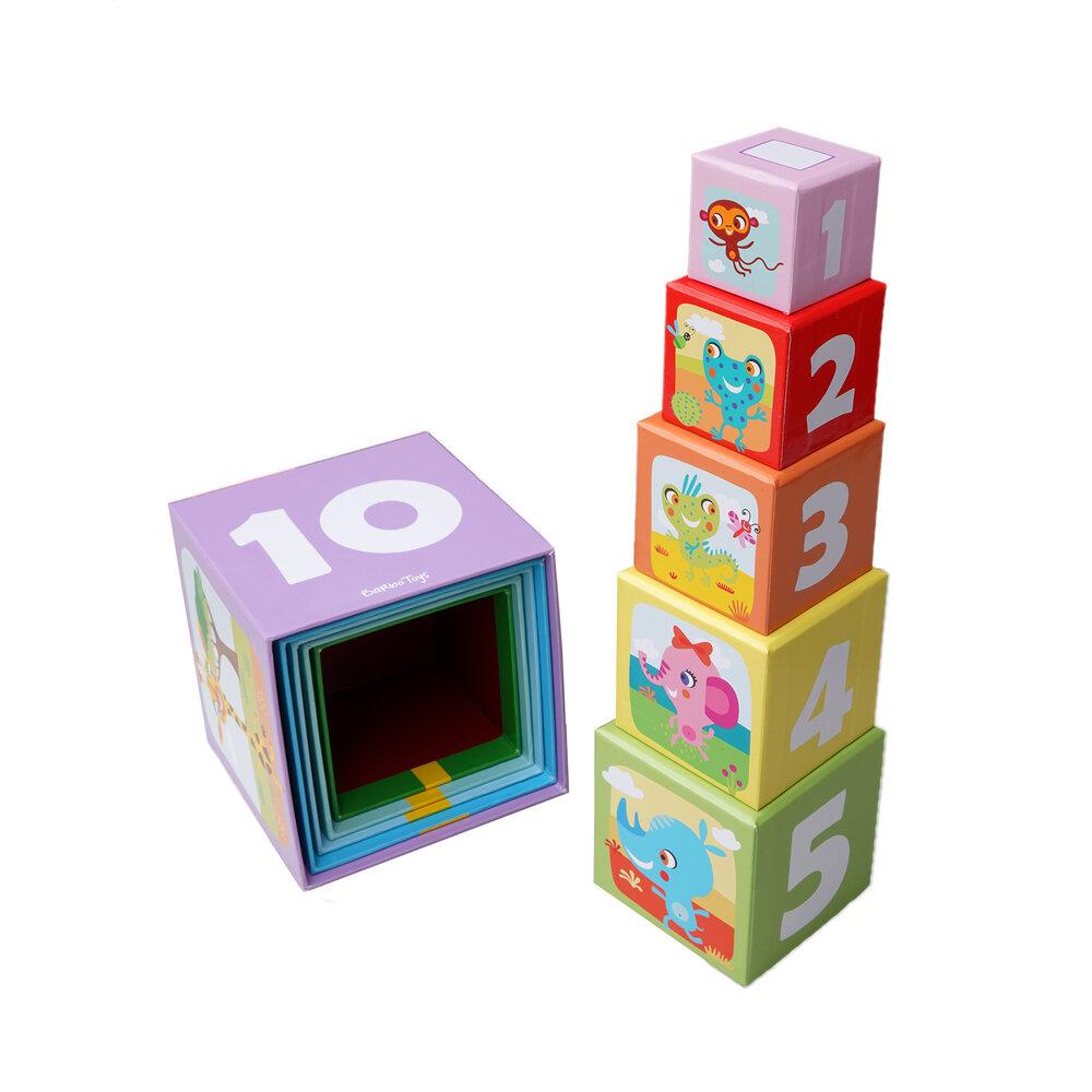 Image of Barbo Toys Safari - Stableklodser (70c5b53e-5839-4223-b7d5-078d208b958a)