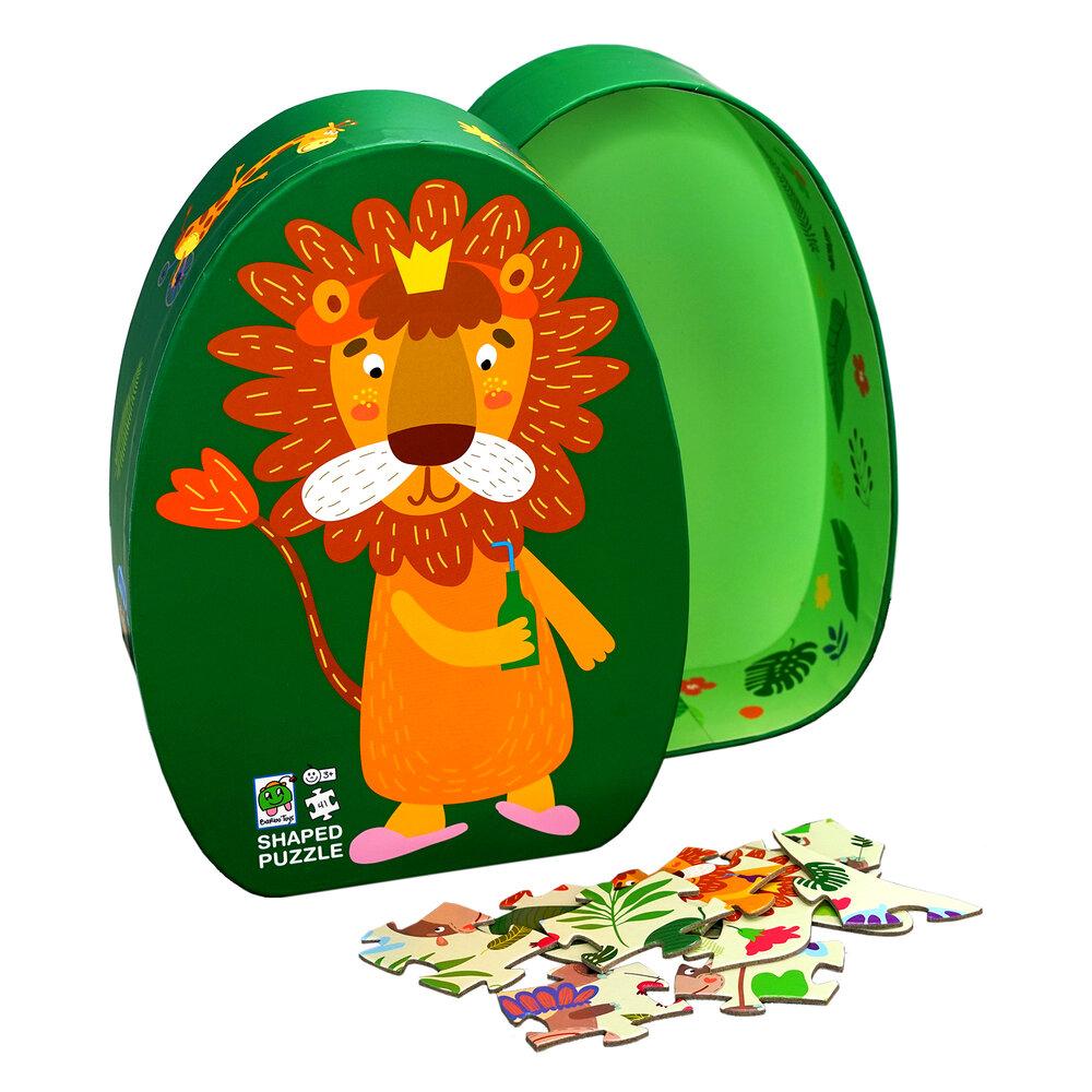 Image of Barbo Toys Løve - Deco Puslespil (889b94e8-c0e0-4510-88ca-49758550796c)