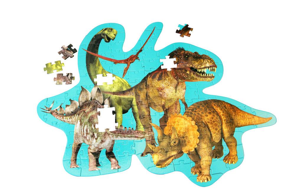 Image of Barbo Toys Gulvpulsespil - Dinosaurs (7fe29803-e471-4ee6-bbfa-3faa466b98d9)