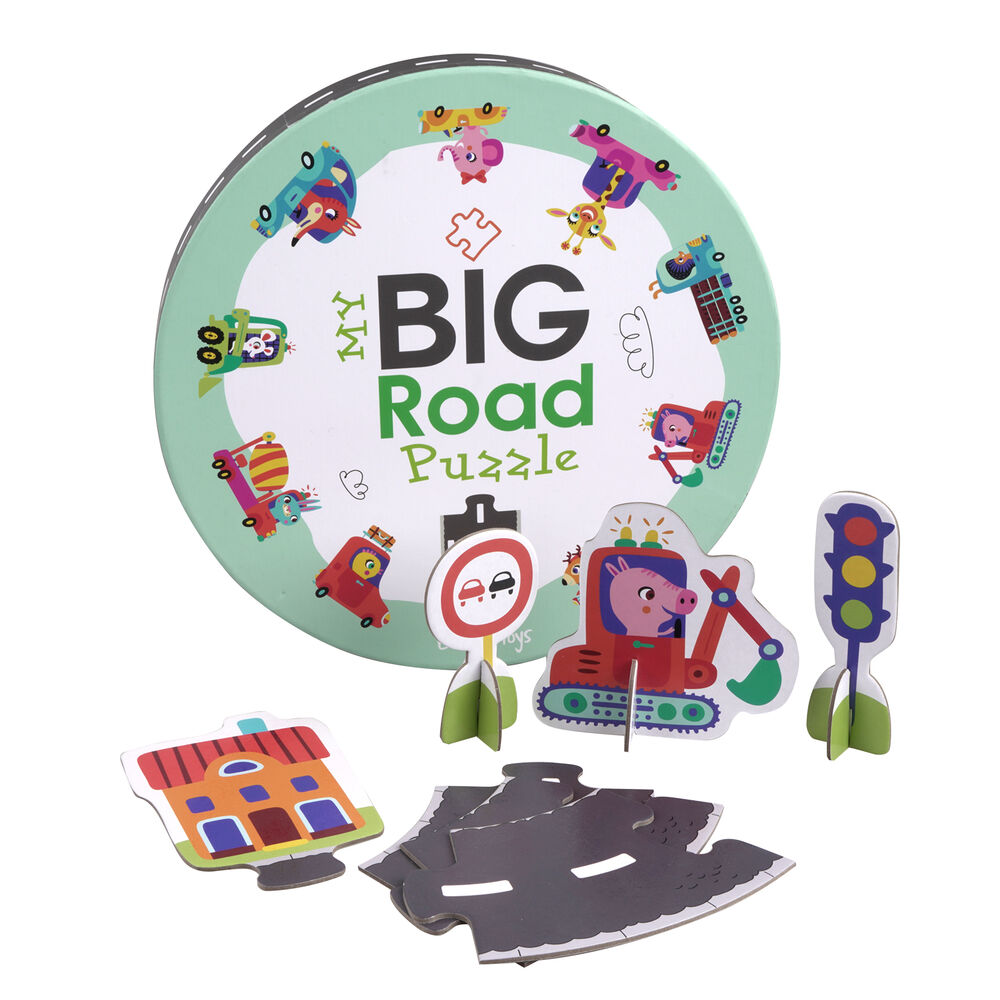 Image of Barbo Toys Mit Store vejpuslespil (27301a7a-a7d6-4105-930e-ee6f5387eaa3)