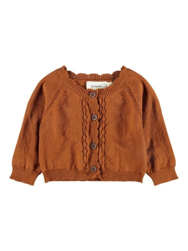Lil' Atelier Isa ls short knit card - GLAZEDGING