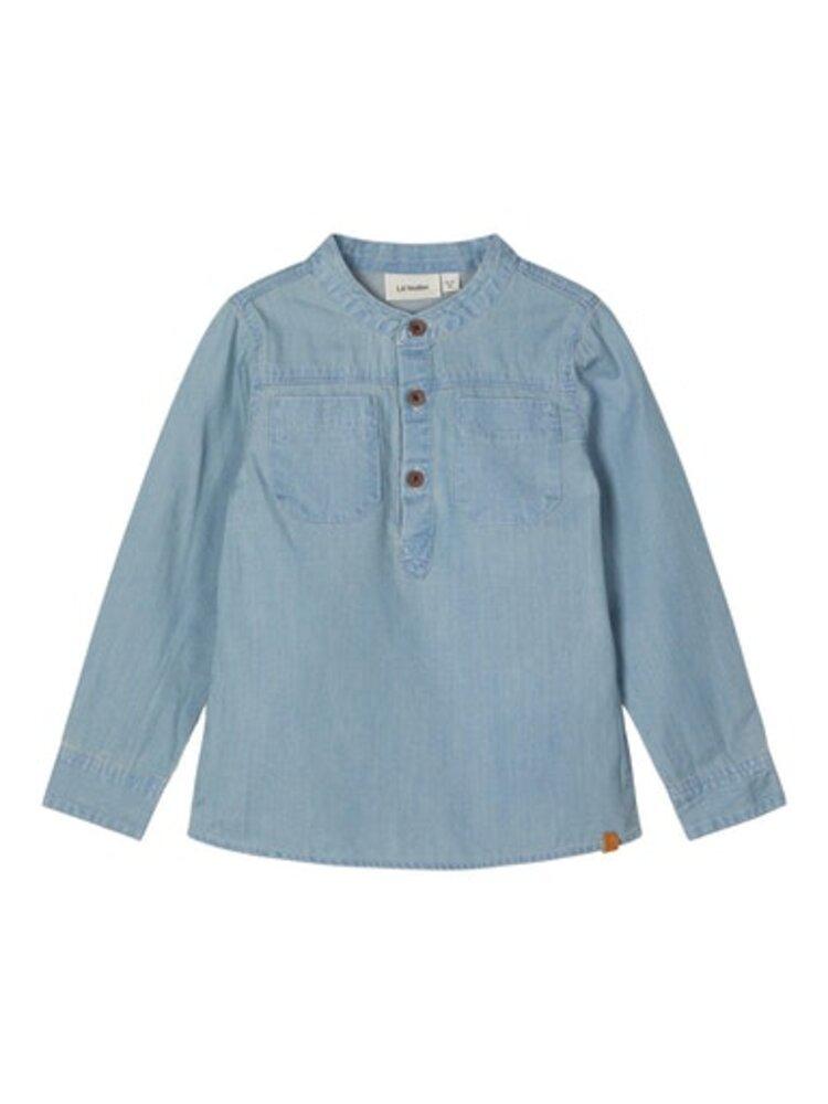 Lil' Atelier Ilan dnm 1499 ls shirt - L.BLUEDEN
