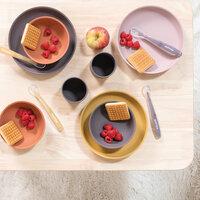 Spisesæt, 4-pak karry/terracotta