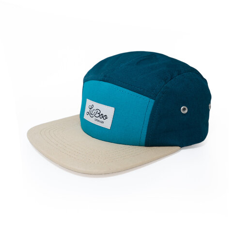 5-Panel kasket - Block Green