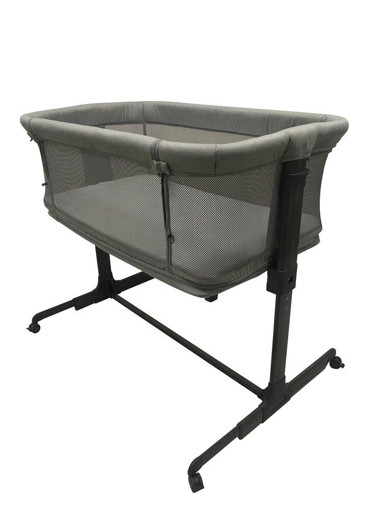 BabyDan Safe Multi Crib Grey Mesh