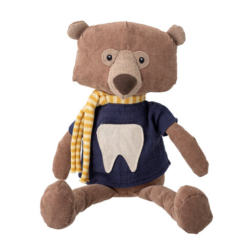 Harry the tooth fairy Soft Toy, Brun