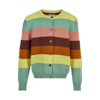 Organic stripe cardigan - 841
