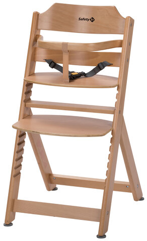 Timba højstol basic - natural wood