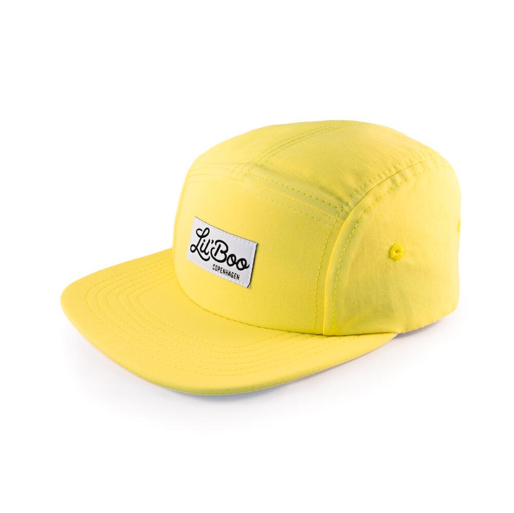 Image of Lil' Boo 5-Panel kasket - Yellow (10733bbf-61ff-4d91-8748-3064124617e3)