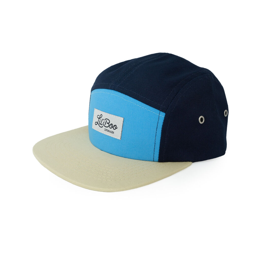 Image of Lil' Boo 5-Panel kasket - Block Navy (ef88a2a6-9a46-4c3d-b9f0-eacc21c81513)