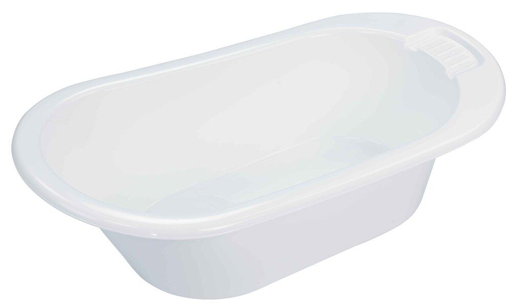 Image of Bébé-Jou Badekar, Uni White (9514719c-d0d7-4038-9fe9-24c4409c4b2e)