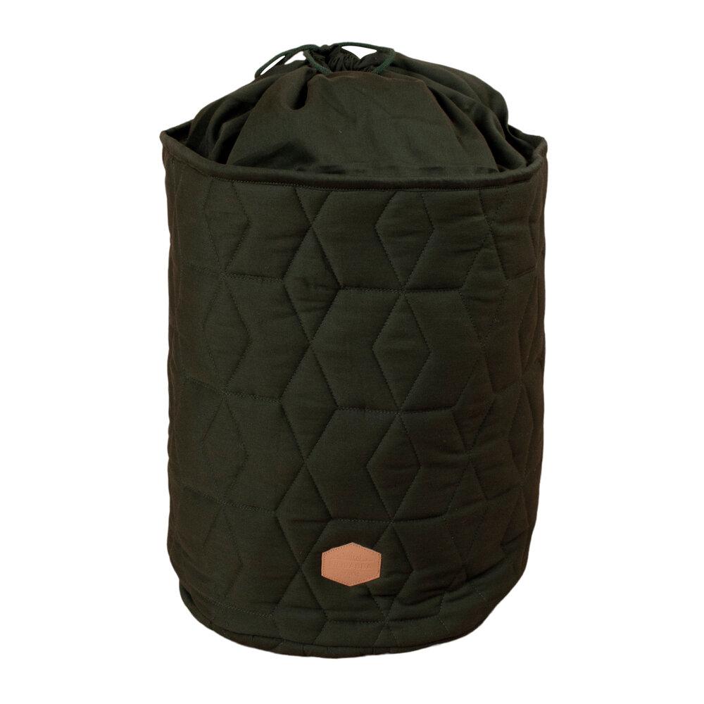 Filibabba Storage bag Soft quilt, Dark green