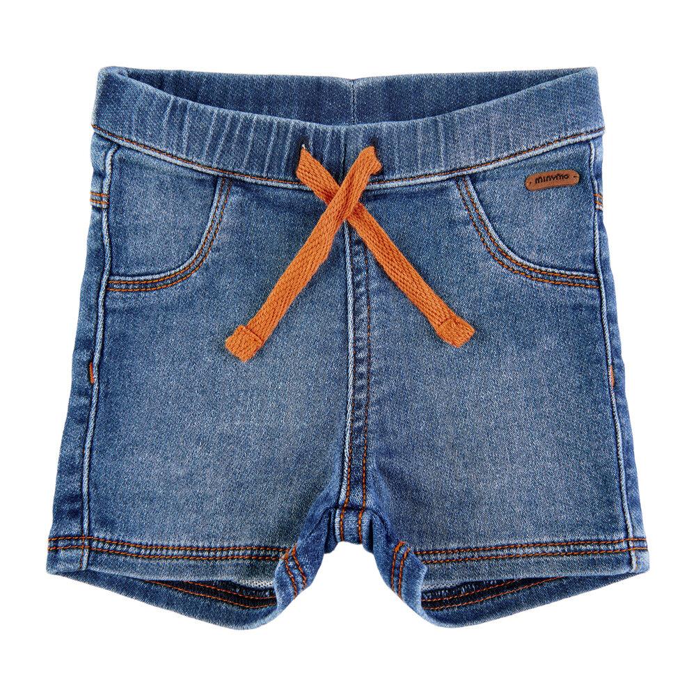 Minymo Shorts sweat denim - 3338