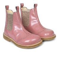 Støvlet med elastik - 8986