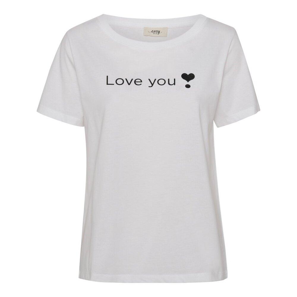 COZY BY JZ Balance t-shirt love you - 10