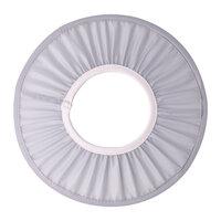 Shower cap med blød elastik, grå