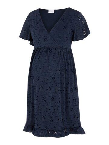 Denise Tess jersey kort kjole - NAVYBLAZER