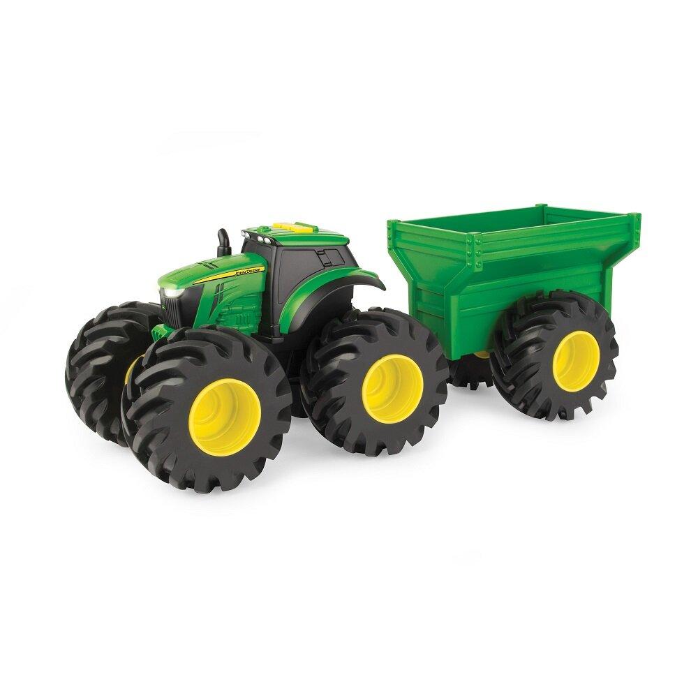 Image of John Deere Monster Treads Traktor m/vogn (d6d00fc3-5199-42fc-9161-d8156a586686)