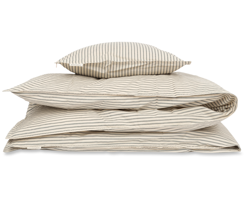 Image of Studio Feder Baby sengesæt - stripe classic (4f0465c4-fa8f-4b23-b3b4-b6b3f1c58dab)