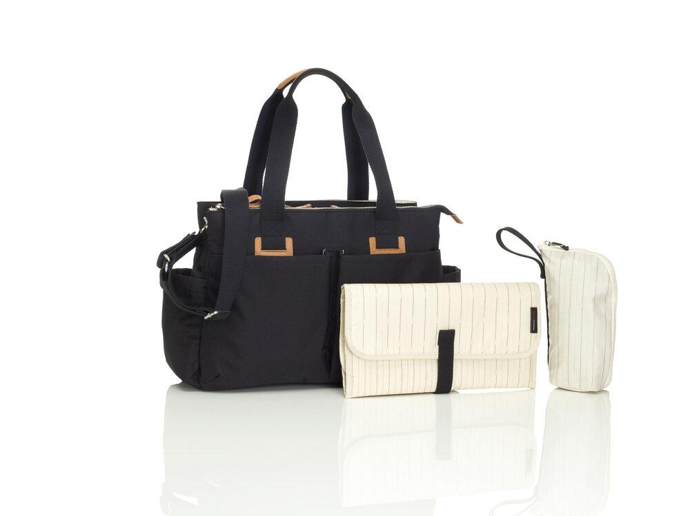 Image of Storksak Shoulder Bag Black (096a1743-eb54-4fcc-a670-829b60ffbd57)