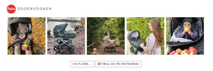 Odder Barnevogn Instagram