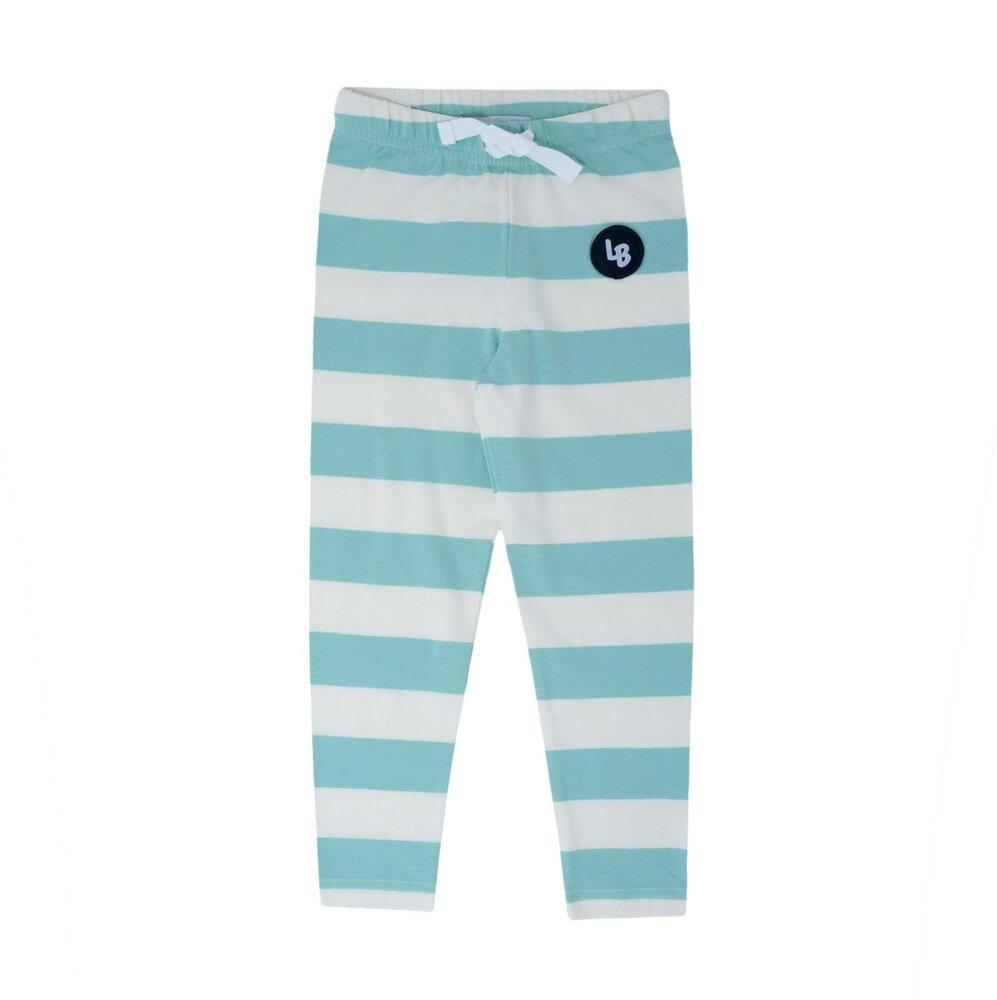 Image of Lil' Boo Jumbo leggings - HVID/LYSGR (fd0162be-dff2-44f0-a75f-3fe5f6ca834b)