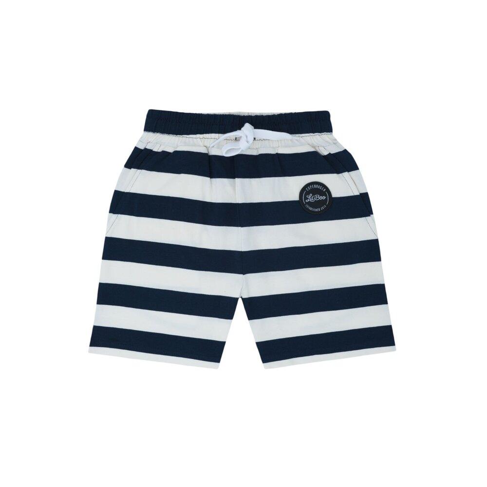 Lil' Boo Jumbo shorts - HVID/NAVY