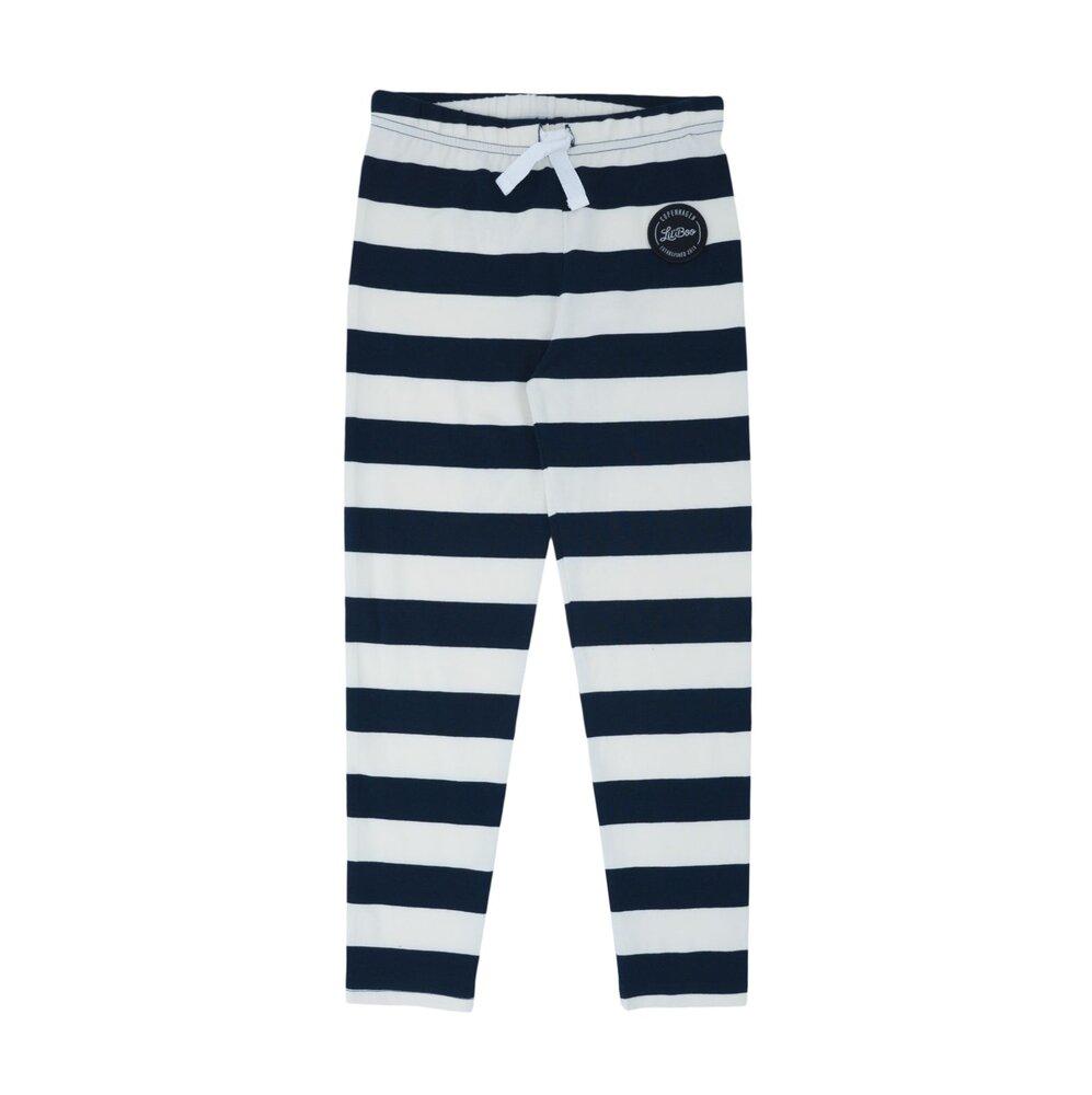 Image of Lil' Boo Jumbo leggings - HVID/NAVY (96337dbc-cee1-4bd1-9444-6d3e4138c9b0)