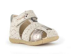 Sandal m. lukket tå og bagkappe - ROSA