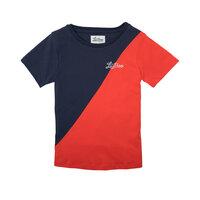 T-shirt - Rød/Navy