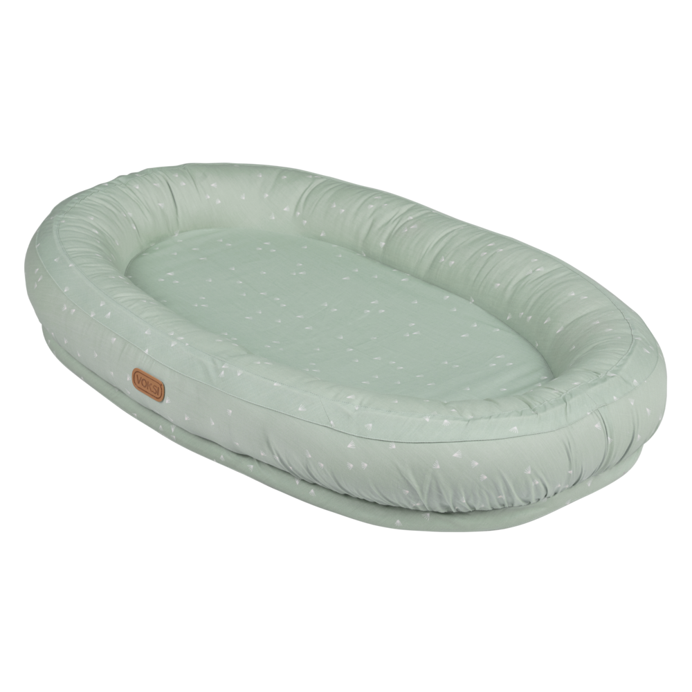 Image of Voksi Baby nest care dusty green flying (506e1a71-b77d-4961-8707-fd10f5ab1520)