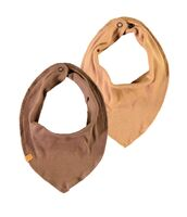 Imio skæk scarf 2pak - TOBACCOBRW