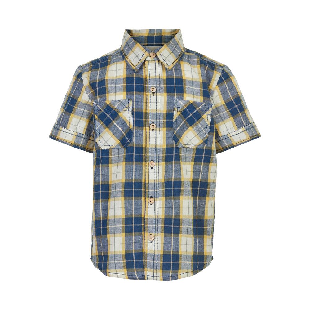 Minymo Shirt SS Check - 7198