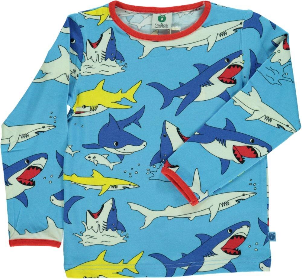 Småfolk T-shirt - BLUE GRO
