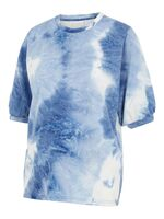 Beth S/S jersey t-shirt - PLACID BLUE