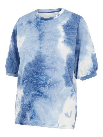 Beth S/S jersey t-shirt - PLACID BLUE