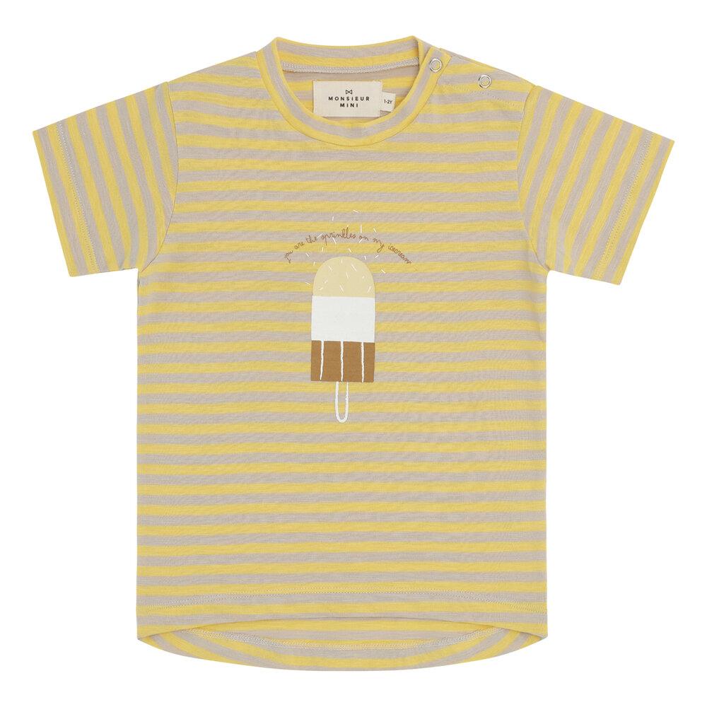 Image of Monsieur Mini S/S tshirt tynde striber - STRIBER (a1dd5503-acf8-468a-9460-9af7bc6d3f79)