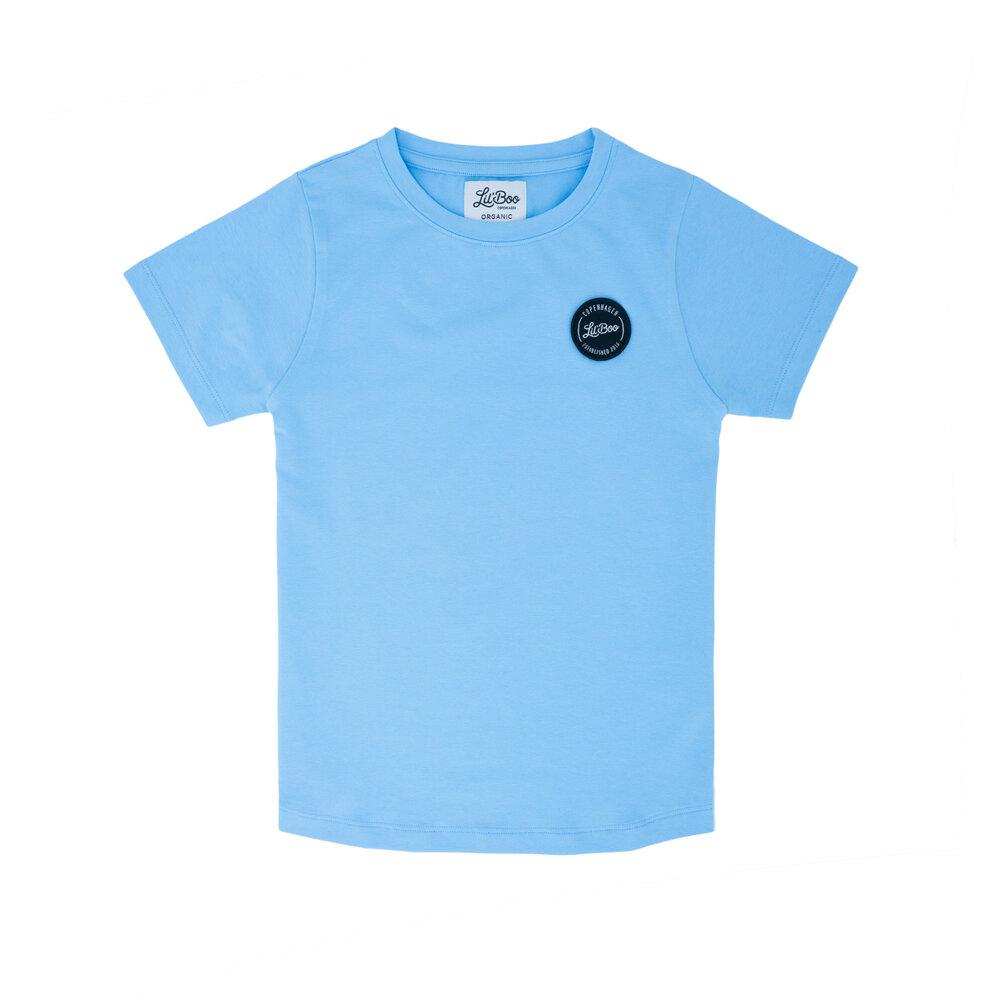 Image of Lil' Boo Classic t-shirt - LYSEBLÅ (19eb431d-0c61-4e6f-855d-2b11f625cfa1)
