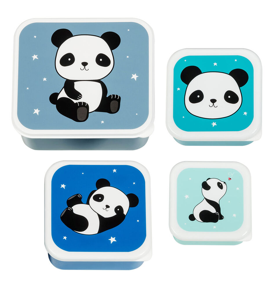 Image of ALLC Lunch & snack box sæt - panda (40a77f9c-eee2-4002-a841-3a69bc10006a)
