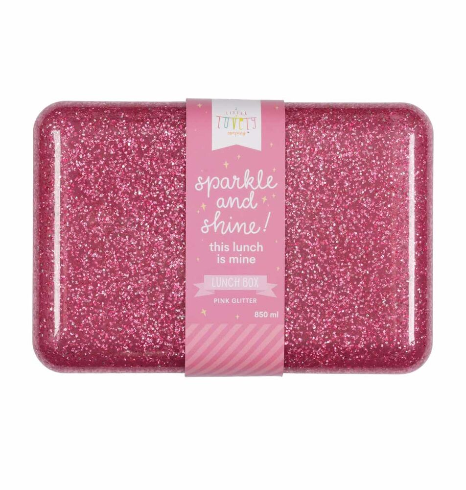 Image of ALLC Lunch box - glitter pink (b35e8b0b-0327-4159-bf24-a53ca7a30c32)