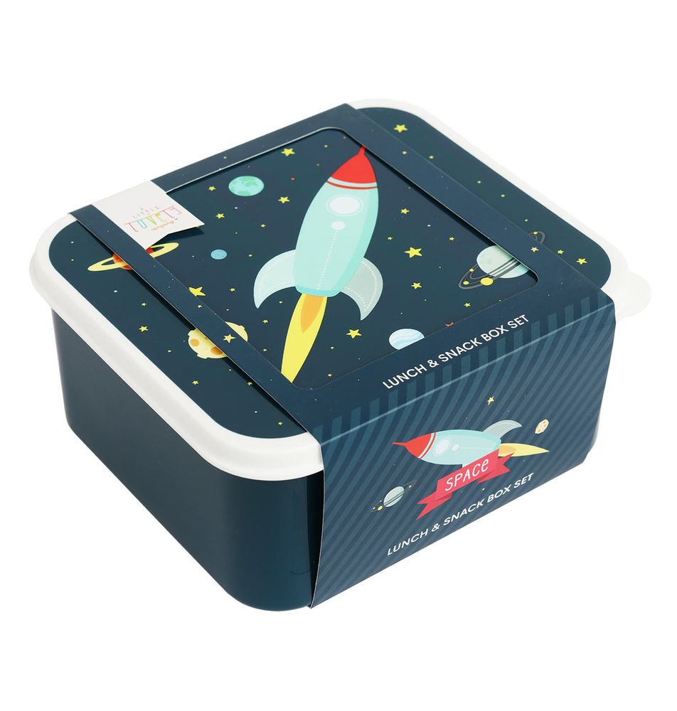 Image of ALLC Lunch & snack box sæt - space (511e9567-8ff3-434c-9e2f-4aae99efe9f0)