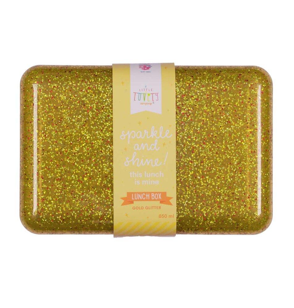Image of ALLC Lunch box - glitter gold (d6debe73-c9a2-465e-b798-e574b830f14d)