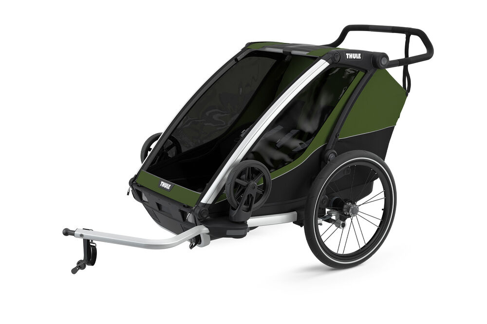 Image of Thule Chariot Cab 2 - cypres green (751c3c8e-771d-43a9-95f5-1a50ee2a4977)