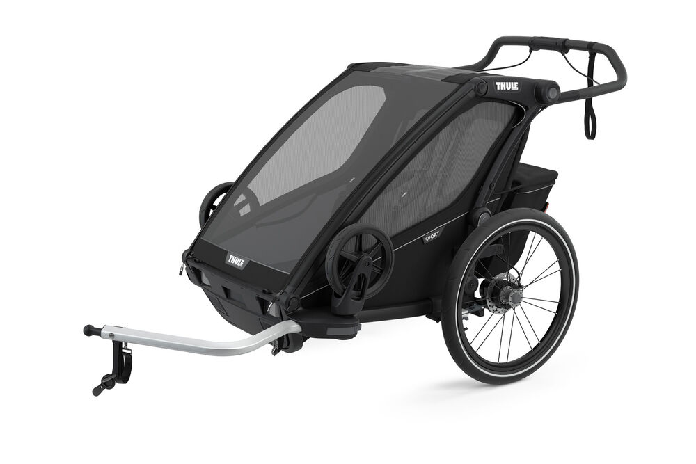 Image of Thule Chariot Sport2 - midnight black (ecb22616-fbb3-4e6c-8944-99ee73f72b19)