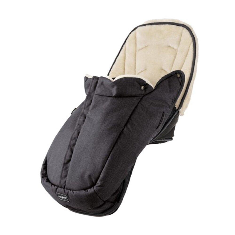 Image of Emmaljunga NXT winter seat liner - lounge black (8051deb0-73f5-409e-a063-36b876d0a9d5)