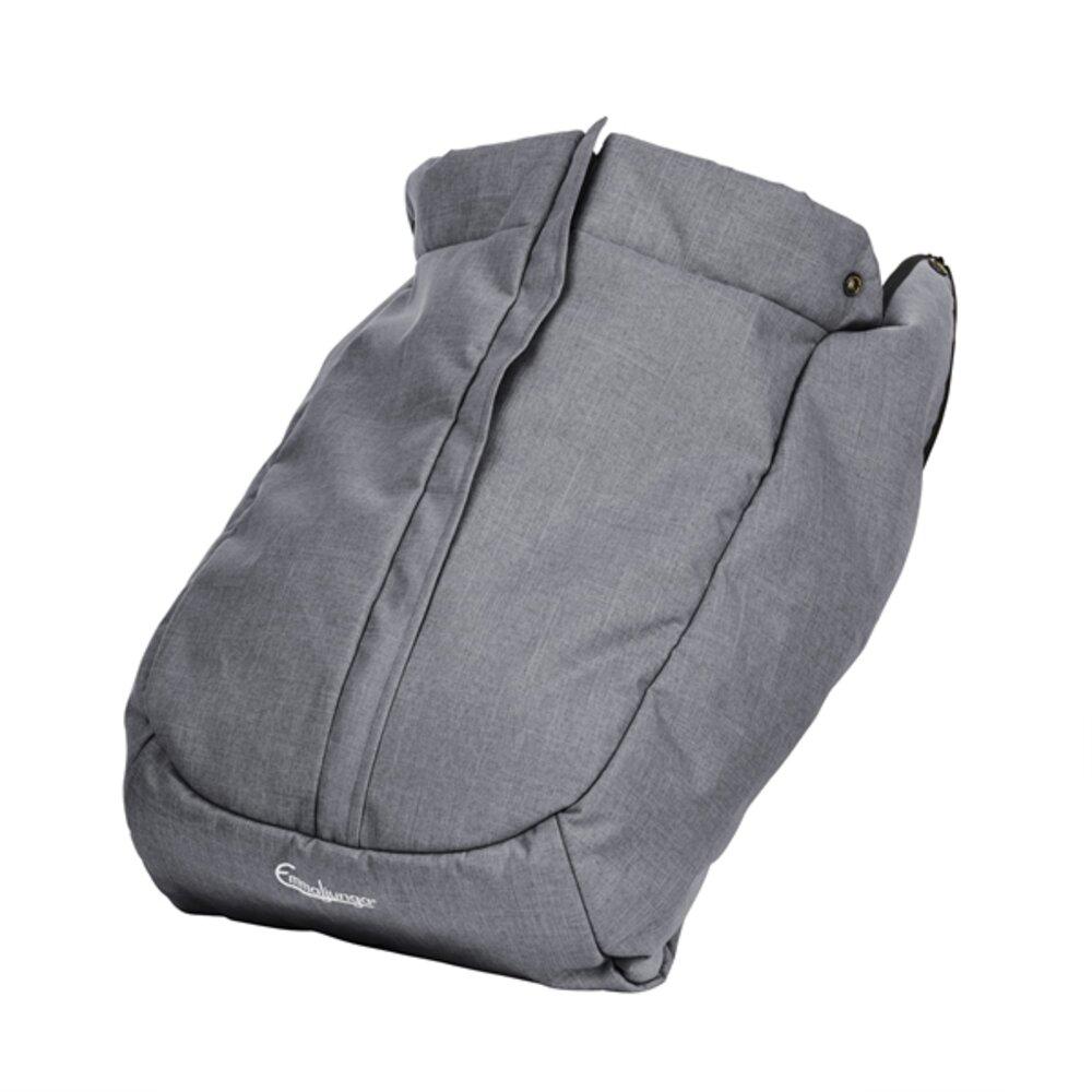 Image of Emmaljunga Forlæder NXT FLAT - lounge grey (6a3c8203-1396-4e2e-8f32-50a1515a6d81)