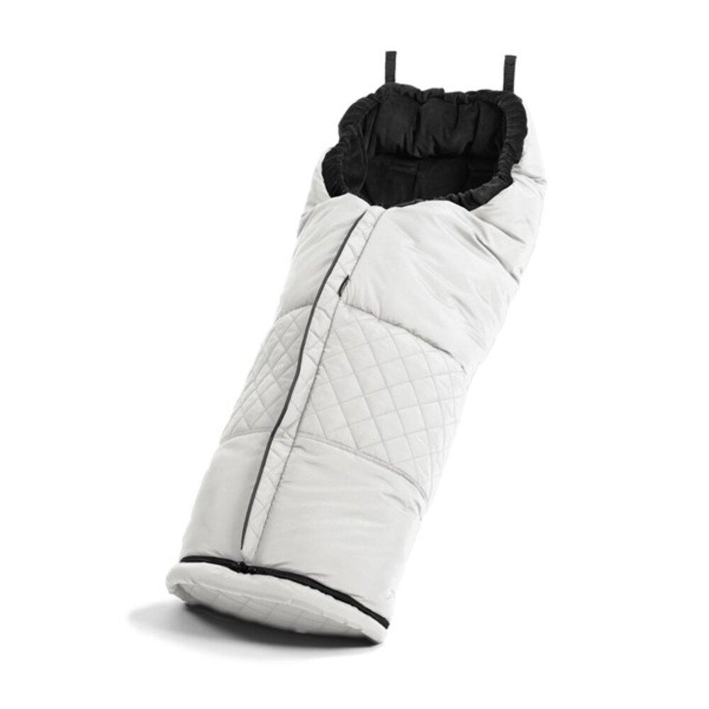 Image of Emmaljunga Kørepose - leatherette white (a74c4f53-01d3-4106-880f-76beda39fc21)