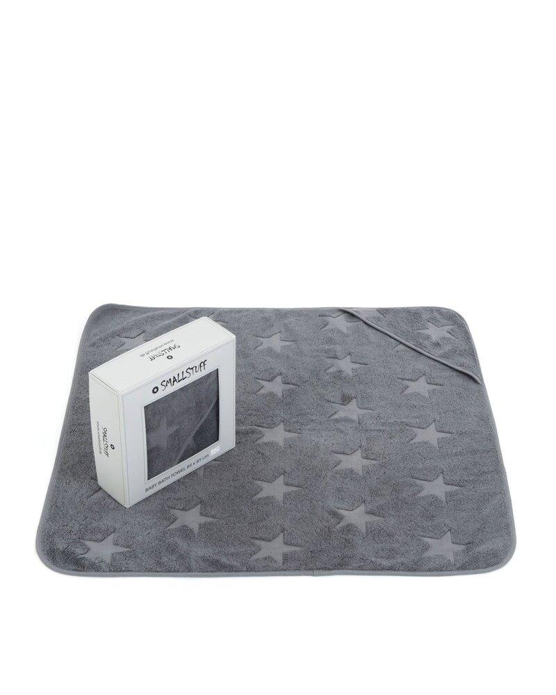 Smallstuff Babyhåndklæde, Grey
