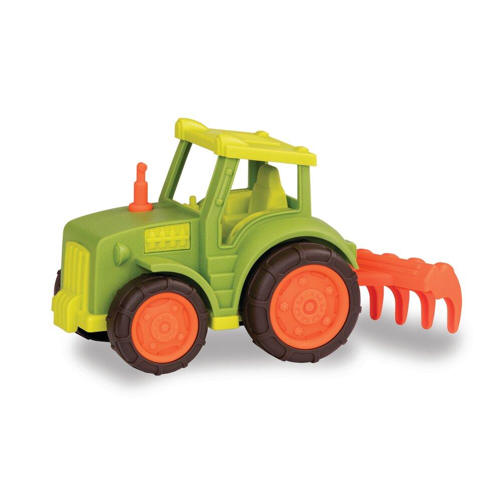 Image of Wonder Wheels, Traktor Med Harve (dda60e78-8e46-4dc8-a671-0586d30622c0)
