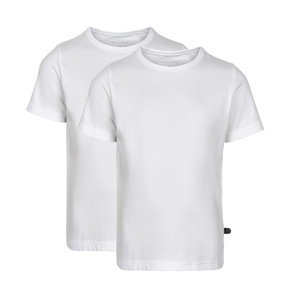 Image of Minymo 2 Pak Basic T-Shirt - 110 (69e0ade2-f37e-4956-ba40-df330f9e32e2)